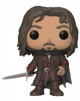 Funko Pop Movies: Lord of the Rings/Hobbit-Aragorn Collectible Figure. Brand New
