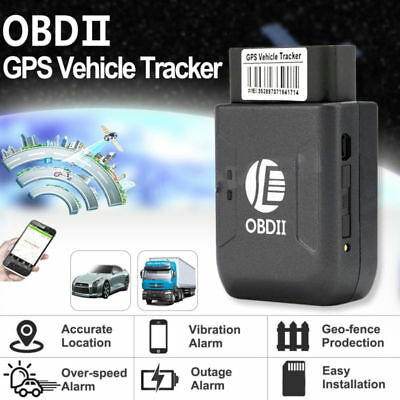 2018 GPS OBD2 OBD II Car Tracker Vehicle Truck Realtime Tracking Device GSM GPRS