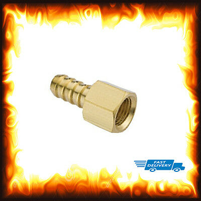 "1/4"" BSP to 12mm Brass Female Barb Hose Tail Fitting Fuel Air Gas Water Hose Oil"