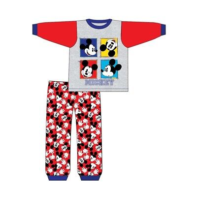 Boys Pyjamas Mickey Mouse Toddler Pjs 6 Months to 24 Months