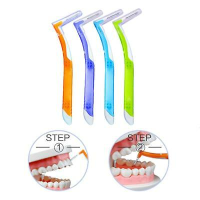 5Pcs/Lot Push-pull Interdental Brush Orthodontic Dental Cleaning Care Toothpicks