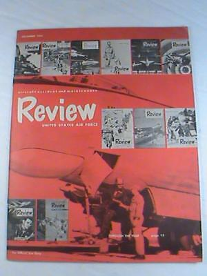 US Air Force Aircraft Accident Maintenance Review Magazine DEC 1954 RESTRICTED