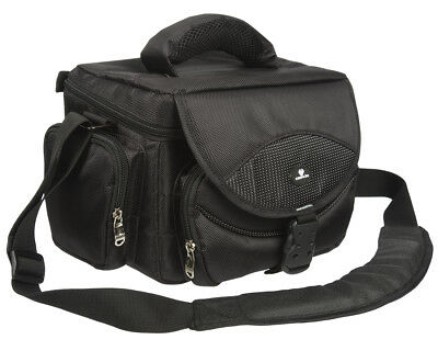 Large Pro DSLR SLR Camera Carry Case Bag Shoulder Adjustable - Lifetime Warranty
