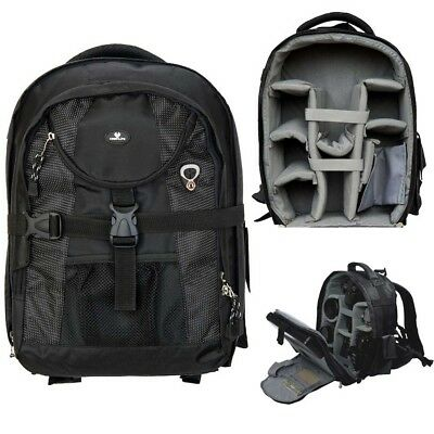 DSLR SLR Digital Camera Backpack Bag Waterproof Case Cover - Lifetime Warranty