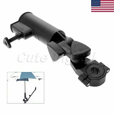 Golf Cart Adjustable Angle Umbrella Holder Stand Groove Club Accessory US STOCK