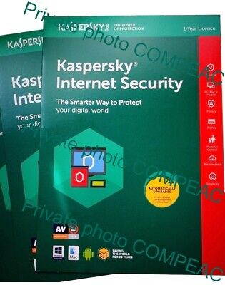 Kaspersky Internet Security 2019 for ANDROID 1 Mobile User Tablet Global