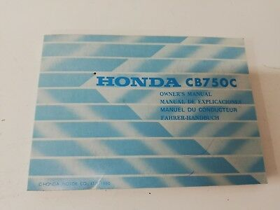 Libretto Manual uso manutenzione use maintenance Multilingua HONDA CB 750 C