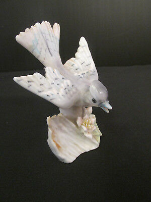Blue Jay Figurine - Made in Japan
