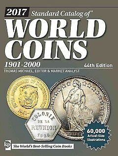 Standard Catalog of World Coins 2017 - NEW - 9781440246548 by Michael, Thomas (E