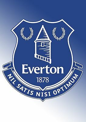 Everton 260GSM POSTER WALL ART A5..A4..A3..OPTIONS