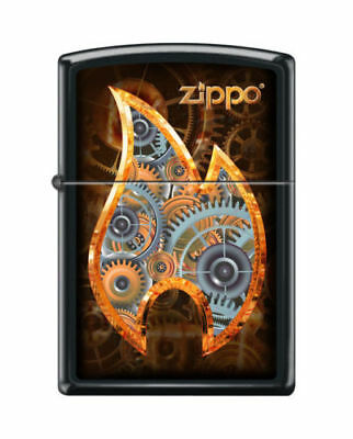 BRIQUET ZIPPO ESSENCE NEUF - FLAMME STEAMPUNK ( Original , Tempete , Collection)