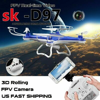 JJRC H23 RC Quadcopter Air-Ground Flying Car 2.4G 4CH 6-Axis Gyro Drone Toys LED
