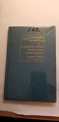 1966 Standard Catalogue of Canadian Coins, Tokens and Paper Money & (6) OTHERS