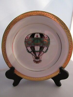 Gold Buffet Royal Gallery Hot Air Balloon Faberge Egg Luncheon/Salad Plate – New