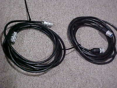 PAIR ( 2 )-Speedotron 25' extension light cables for 102, 103  flash heads