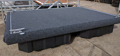 Heavy Duty Marine Carpet Dark Grey 4Mr Wide By The Mtr Suit Boat Pontoon Outdoor