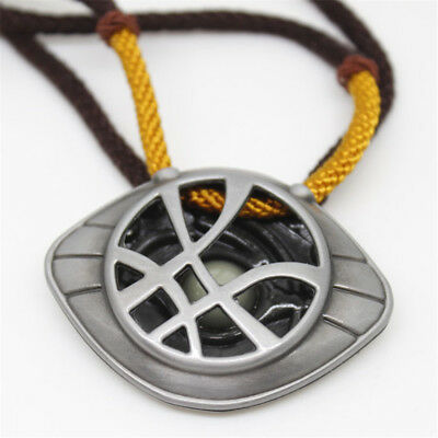 Dr.Steven Doctor Strange Cosplay The Eye of Agamotto Props Amulet luminated Neck