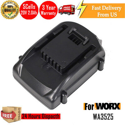 Replacement Worx 20V Max WA3525 WA3520 Battery WG160 WG163 WG255 US LATEST PACK
