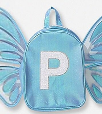 Justice Butterfly Wing Letter P Mini Backpack Last One!🦋