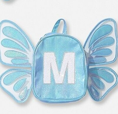 Justice Butterfly Wing Letter M Mini Backpack Last One!🦋