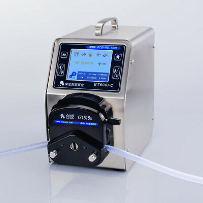 BT600FC/1515X Touch Screen Control High Precision Filling Type Peristaltic Pump