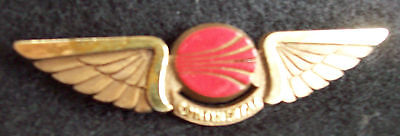 "Vintage Continental Airlines Pin--Plastic 2 3/4"" Long --Pin Missing"