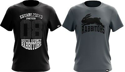 South Sydney Rabbitohs NRL 2018 Twin T Shirts Adult Sizes S-5XL!
