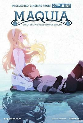 """Maquia When the Promised Flower Blooms Anime Movie Poster 13x20"""" 24x36"""" 27x40"""""""