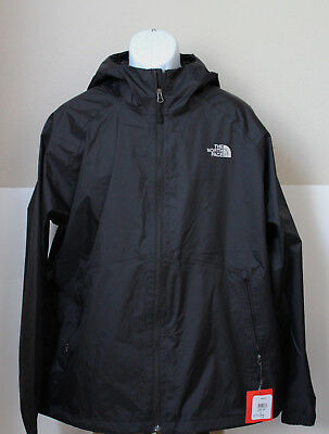 NWT The North Face Men's Boreal Rain Jacket Water Proof Black SIze M,L,XL,2XL