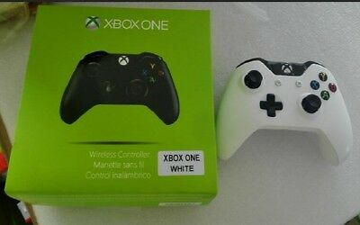 Genuine Microsoft XBOX One Gamepad Wireless Game Controller White Color