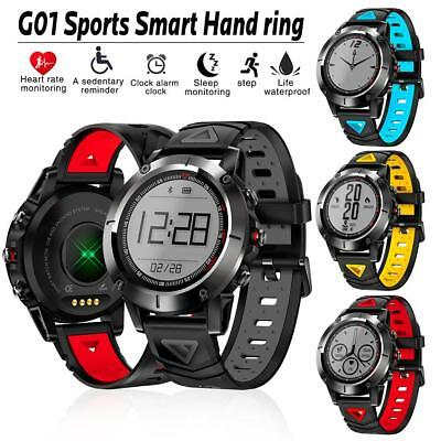 G01 Smart Watch GPS Heart Rate Blood Pressure Monitor Fitness Activity Trackers