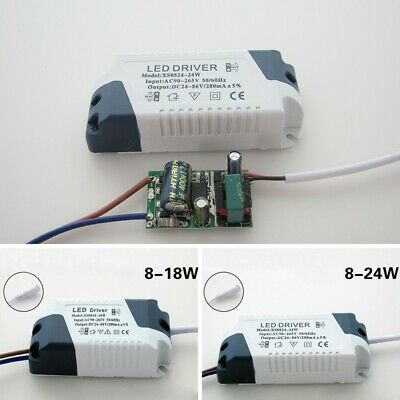 LED Driver 8-18/8-24W Dimmable Ceilling Light Lamp Transformer Power Supply