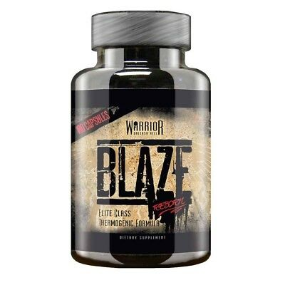 Warrior Blaze Fat Burners Strong T5 Weight Loss Slimming Aid Diet Pills 180 Caps