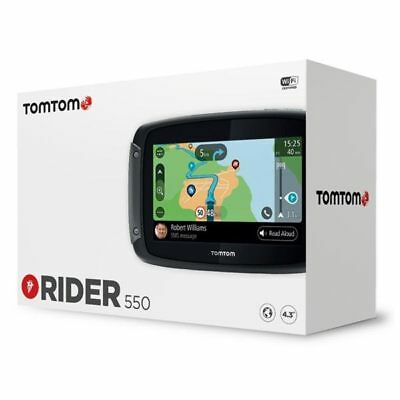 Tom Tom TomTom Rider 550 World Motorcycle Motorbike Sat Nav Navigation System
