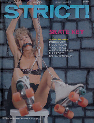 Vintage  USA Magazin  STRICT   Volume 1 - Nr. 10  von 1989   in TOP-Zustand !!!