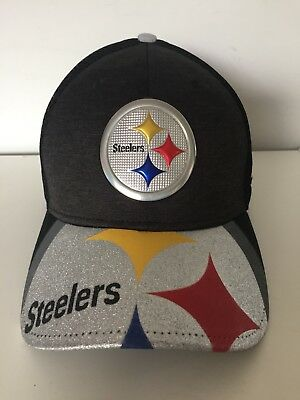 NEW ERA 39thirty Mens Steelers NFL Baseball Cap Hat - Size M/L BNWT