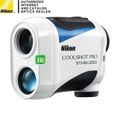NEW Nikon 2018 Coolshot Pro Stabilized Golf Laser Rangefinder with Slope ID