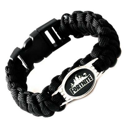 Outdoor Fortnite Woven Bracelet Durable Outdoor Emergency Survival Wristband