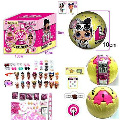 4.0 inch L.O.L. Surprise! Confetti Pop-Series 3 Collectible Dolls LOL Surprise