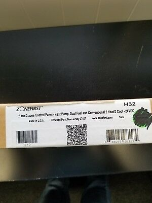**BNIB** Zonefirst H32 2 and 3 Zone Control Panel