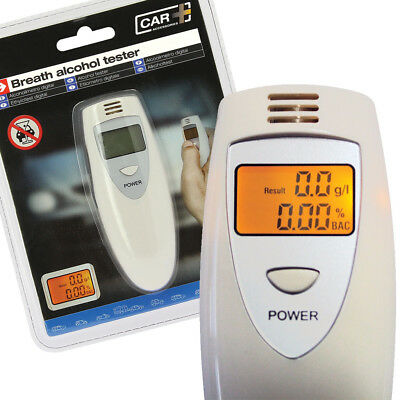 Sumex Digital LCD Professional Alcohol Breathalyser Tester Breath Test Machine
