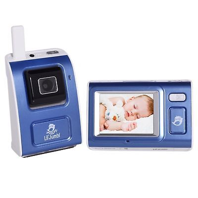 Lil Jumbl Video Surveillance Infant Baby Monitor Security Wireless Digital Camer