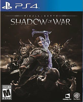 Middle-Earth Shadow of War Playstation 4