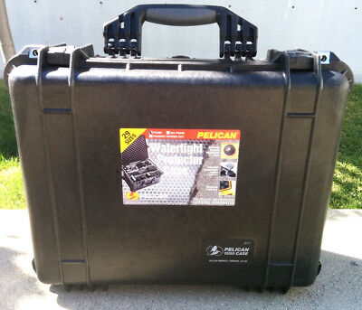 Pelican 1550 Case Black with foam