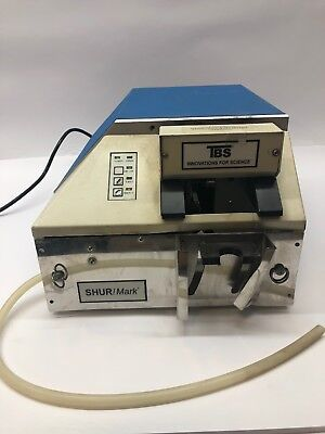 SHUR/MARK E22-01-MWS Side Labeler & Extractor Triangle Biomedical Sciences (TBS)