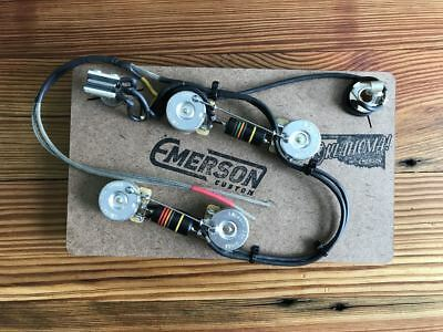 Emerson Custom ES-335 Prewired Kit - 500k pots