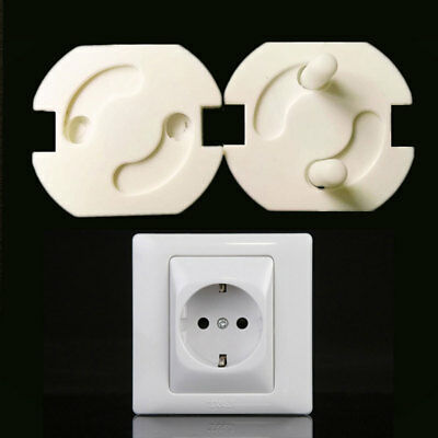 EB77 9256 10Pcs/Pack Power Electric Outlet Cover Baby Children Protectors Safety