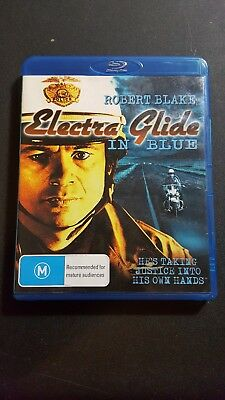 Electra Glide In Blue Blu Ray Out-of-Print -Robert Blake MGM Vintage