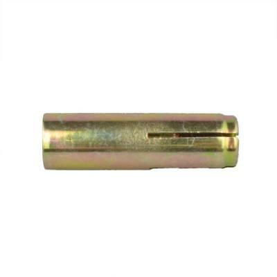 Drop In Anchor M16 (16mm) x 65mm Metric SMOOTH BODY Masonry Zinc Yellow Concrete