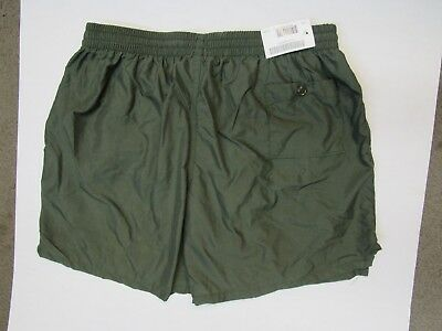 USMC US Marine Corps PT General Purpose Running Shorts OD Green Size XLarge